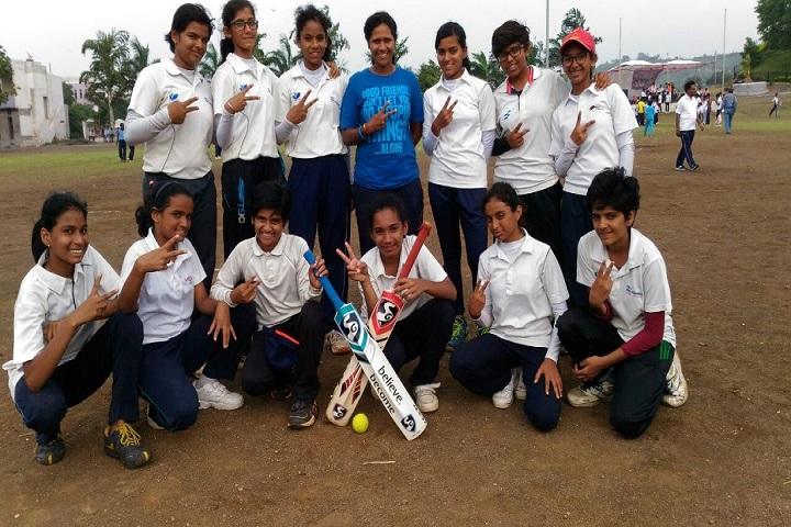Dr D Y Patil Public School-Tennis Ball Team