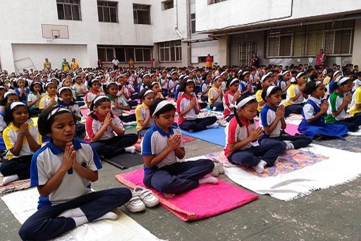 Dr D Y Patil Public School-Yoga Day Celebrations