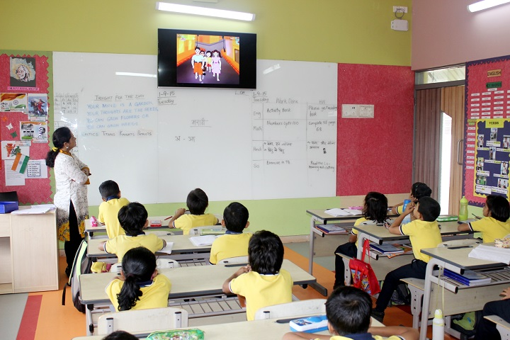 Ebenezer Internation School-Digitial Class Room