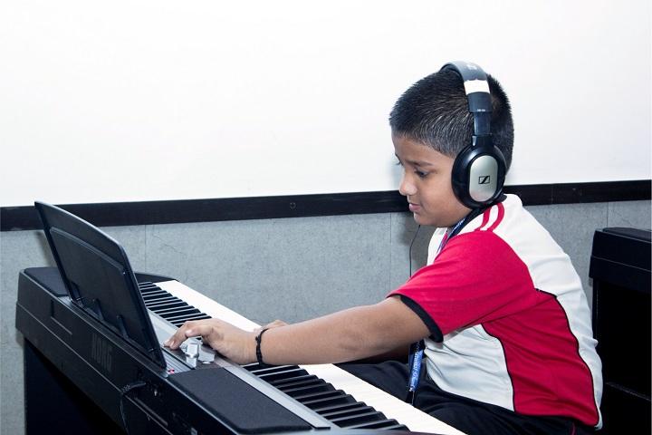 Ebenezer Internation School-Music Class