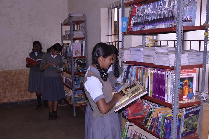 Fr Agnel School-Library