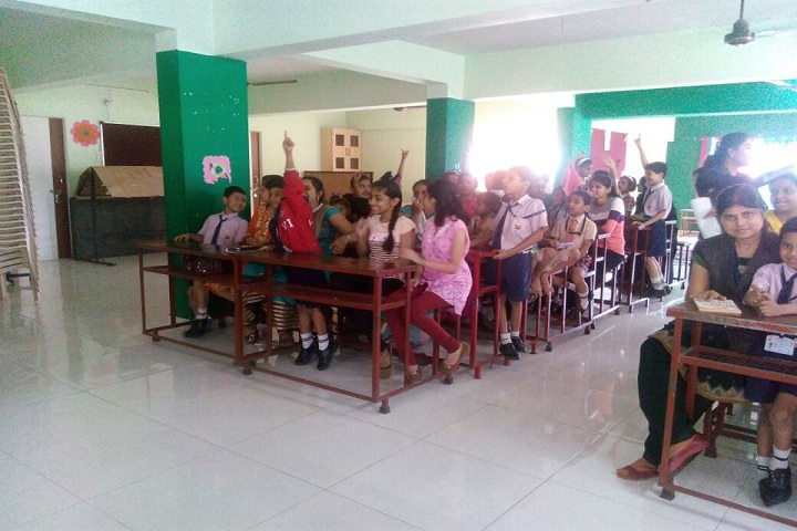 Gayatri English Medium School-Classroom