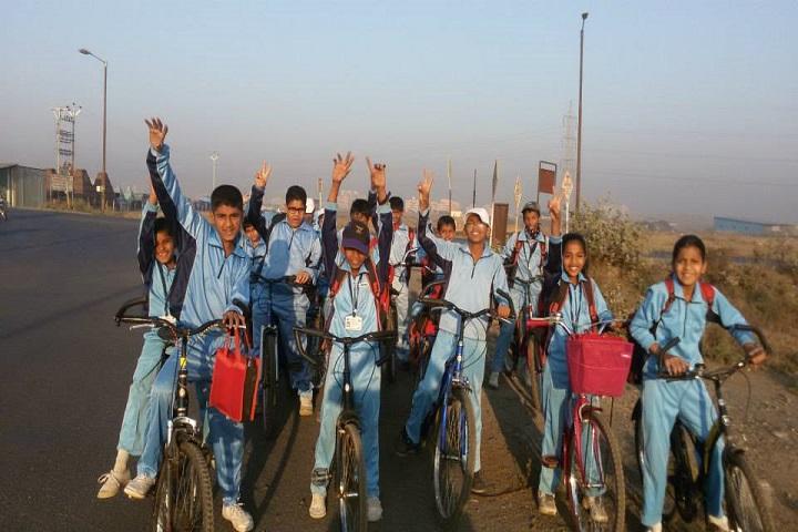 Gayatri English Medium School-Cycle Rally