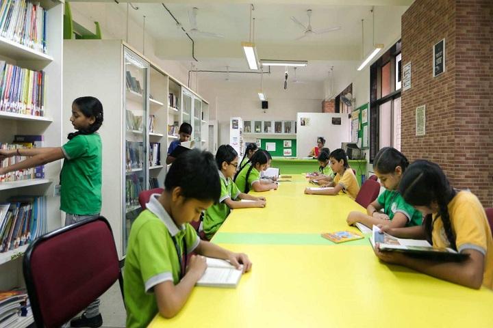 Gopals Garden High School-Library