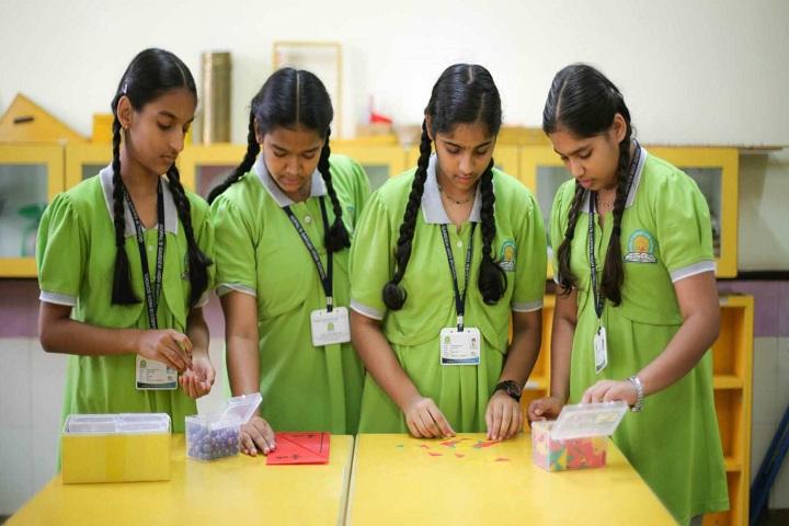 Gopals Garden High School-Maths Lab