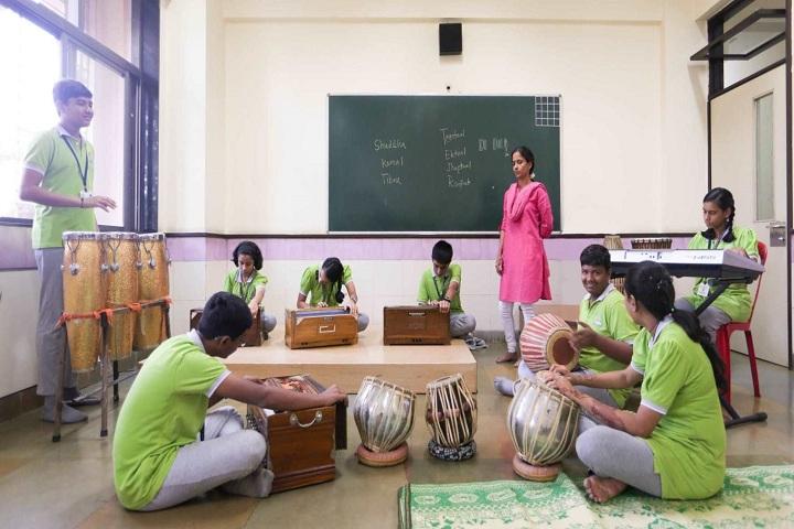 Gopals Garden High School-Music Room