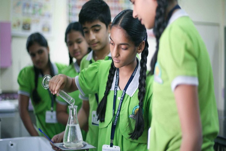 Gopals Garden High School-Science Lab
