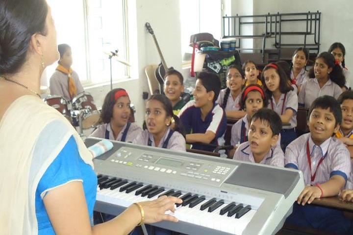 Greenfingers Global School-Music Room