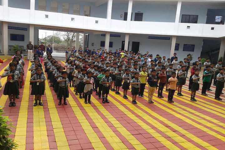 Gurukul Dnyanpeeth School-Assembly