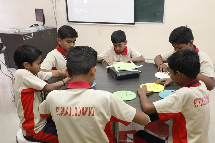 Gurukul Olympiad School-Classroom Activity
