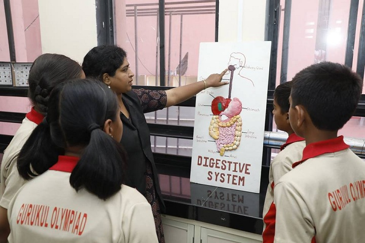 Gurukul Olympiad School-Biology lab