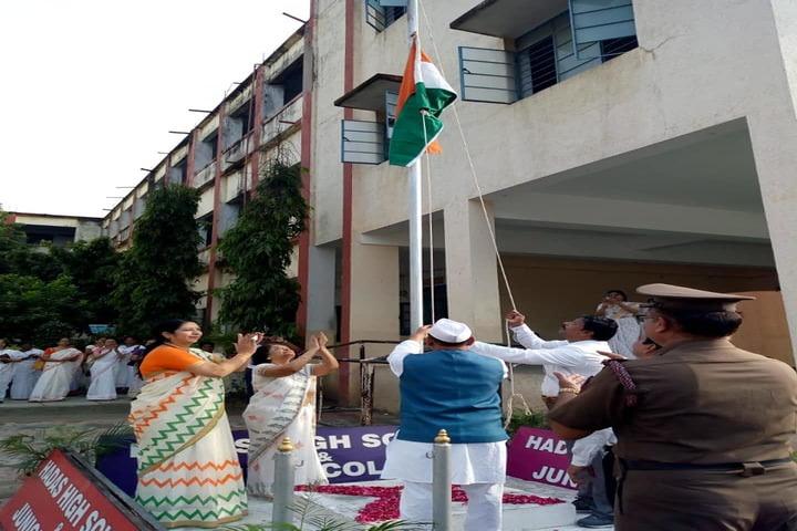 Hadas English Medium School-Flag Hosting