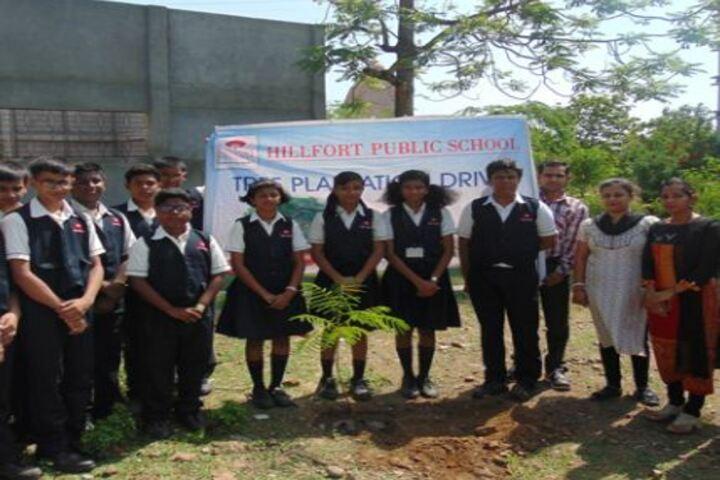 Hillfort Public School-Plantation
