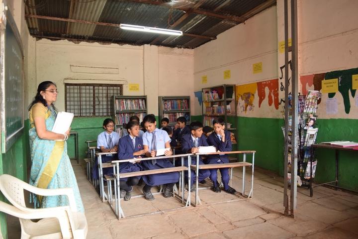 Hind English Medium School-Library