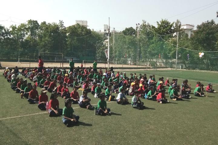 Hind English Medium School-Yoga Day