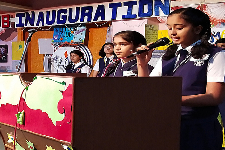 Holy Angels School and Junior College-Inauguration
