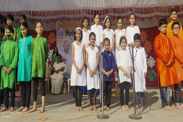 Holy Angels School and Junior College-National Festival Celebrations