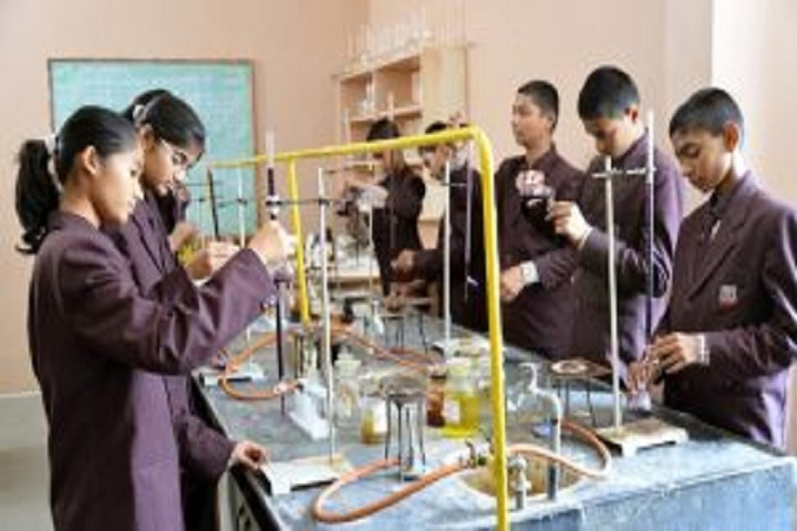 Sharad Pawar International School-chemistry lab