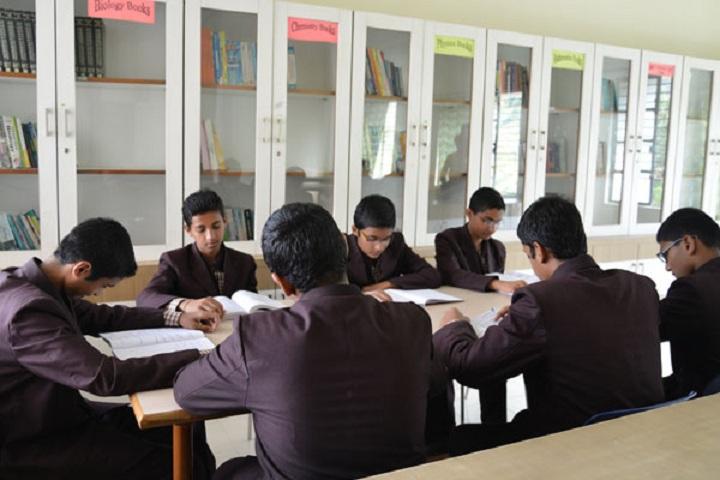 Sharad Pawar International School-Senior Library