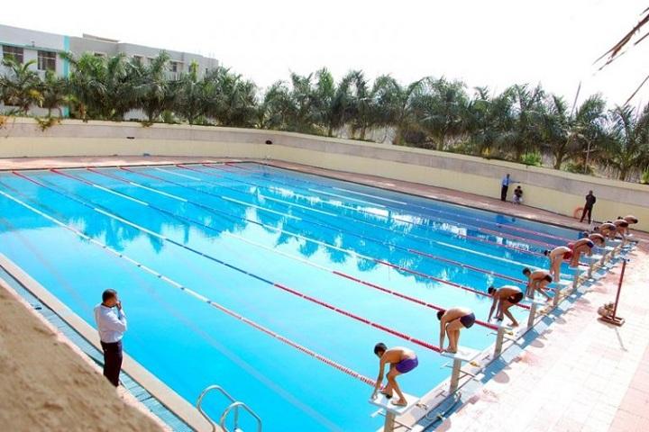 Sharad Pawar International School-Swimming Pool