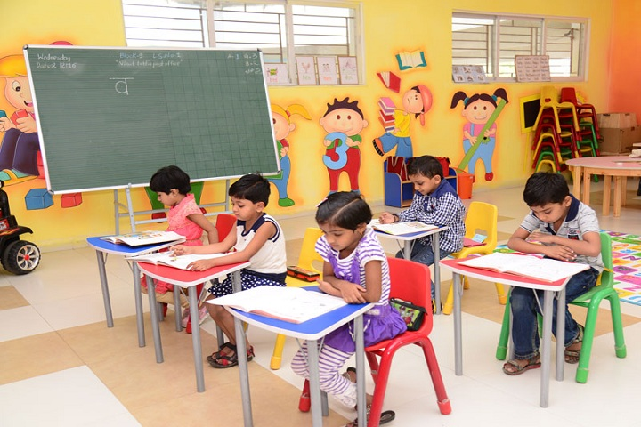 Annasaheb Dange International School-Classroom