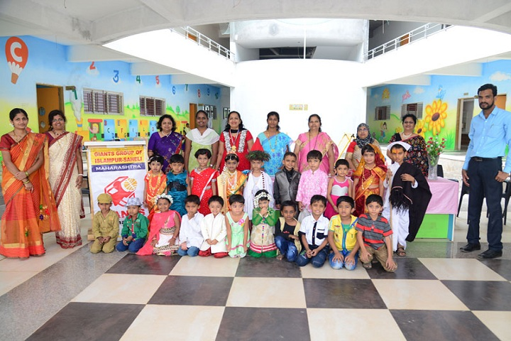 Annasaheb Dange International School-Traditional Day