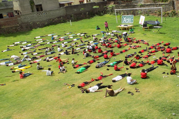 Annasaheb Dange International School-Yoga Day