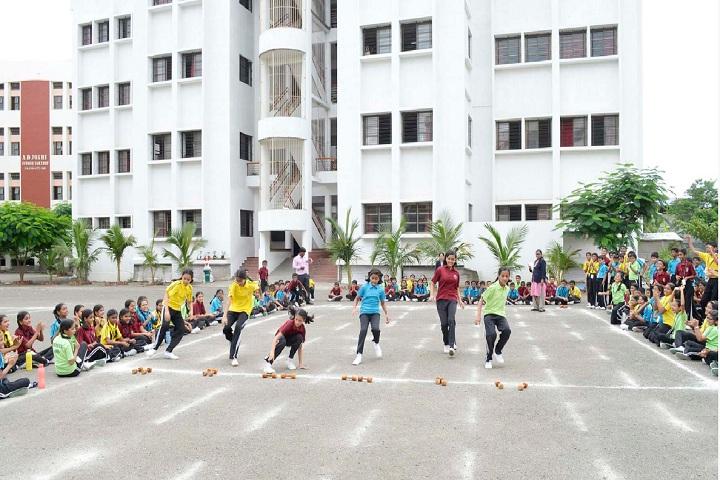 Indian Model School-Race