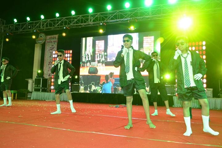 Jagdamba Public School-Events dance