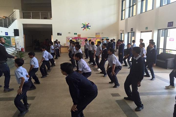 Jain Heritage A Cambridge School-Dance class
