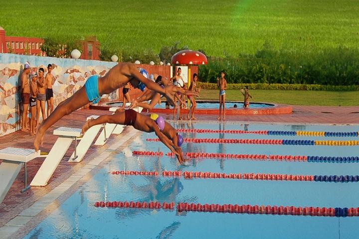 Jain Heritage A Cambridge School-Swimming Pool