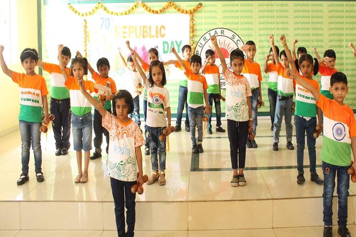 Jaipuriar School-Republic Day