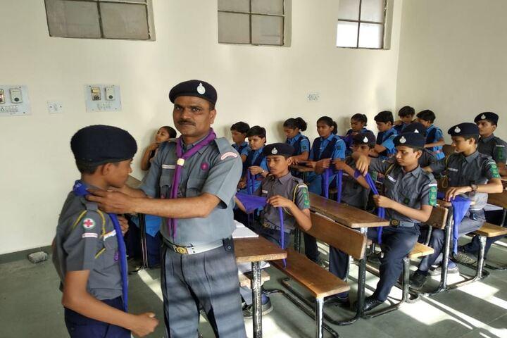Jawahar Navodaya Vidyalaya-Scout and NCC