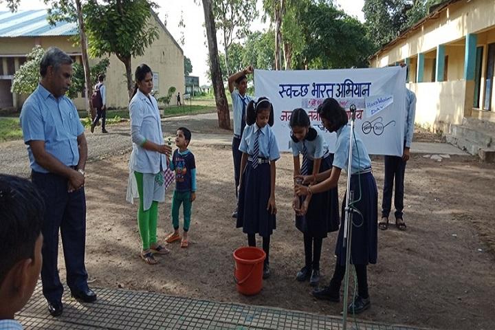 Jawahar Navodaya Vidyalaya-Hand Wash Day