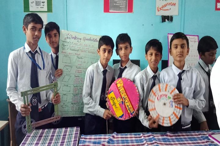 Jawahar Navodaya Vidyalaya-Maths Exhibition