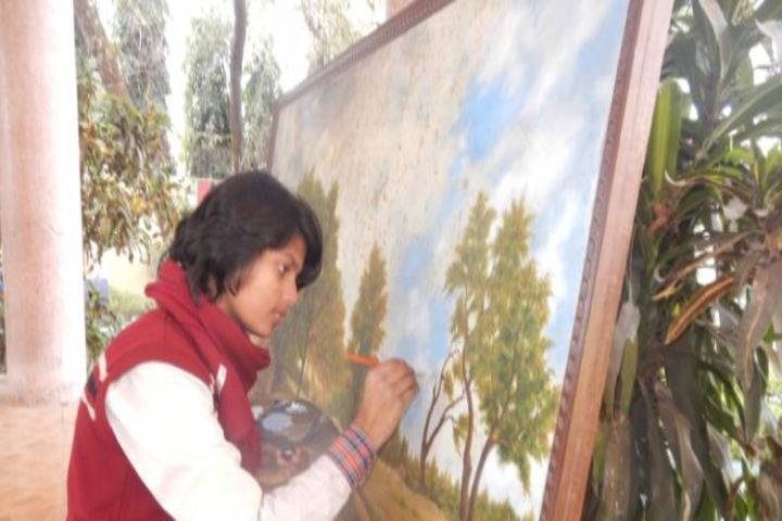 DAV Public School-Painting
