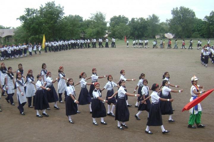 Jawahar Navodaya Vidyalaya-Assembly Ground