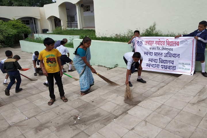 Jawahar Navodaya Vidyalaya-Swachh Awareness