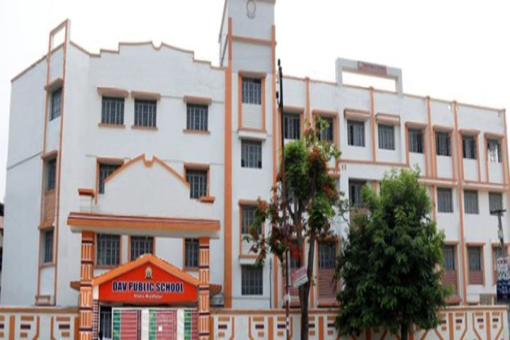 DAV Public School-Building