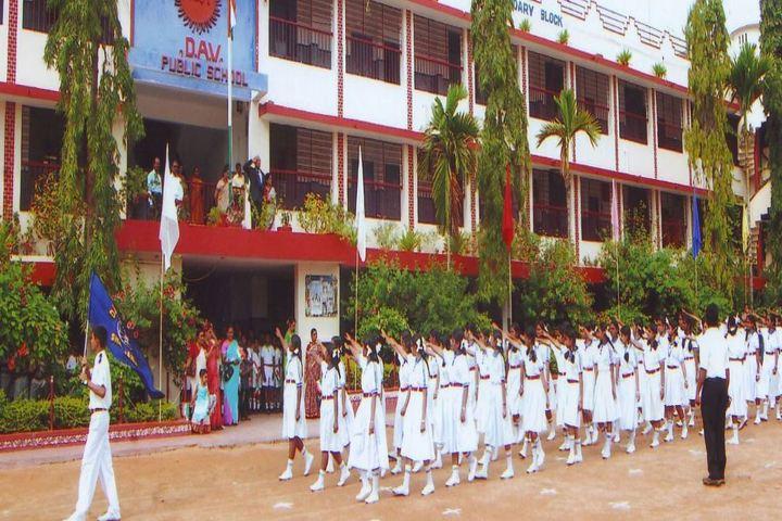 DAV Public School Public School-March Past