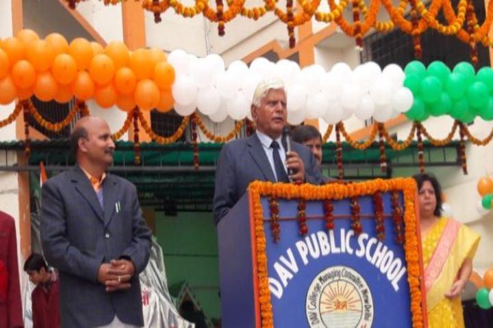 DAV Public School Public School-Speech