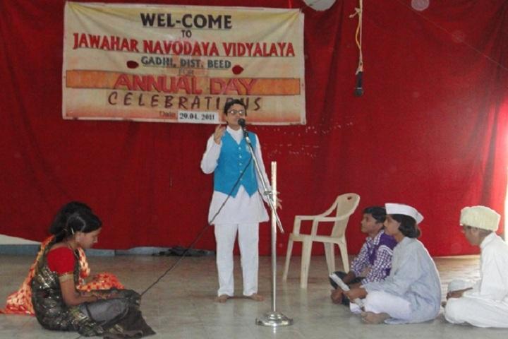 Jawahar Navodaya Vidyalaya-Events drama