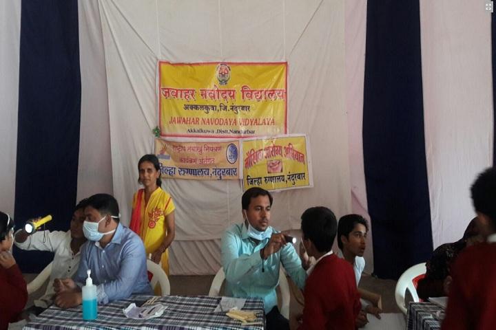 Jawahar Navodaya Vidyalaya-Medical Checkup