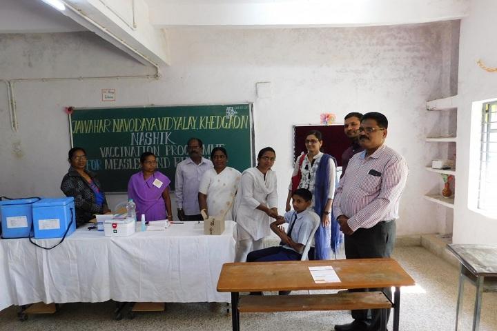 Jawahar Navodaya Vidyalaya-vaccination program