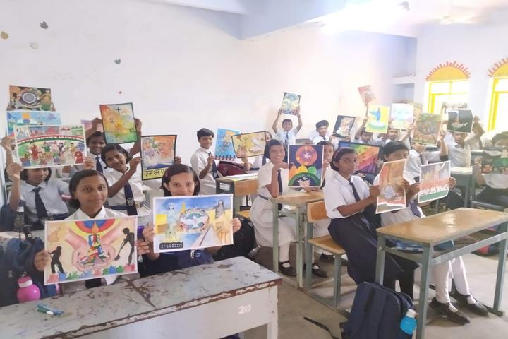 Jawahar Navodaya Vidyalaya-Painting