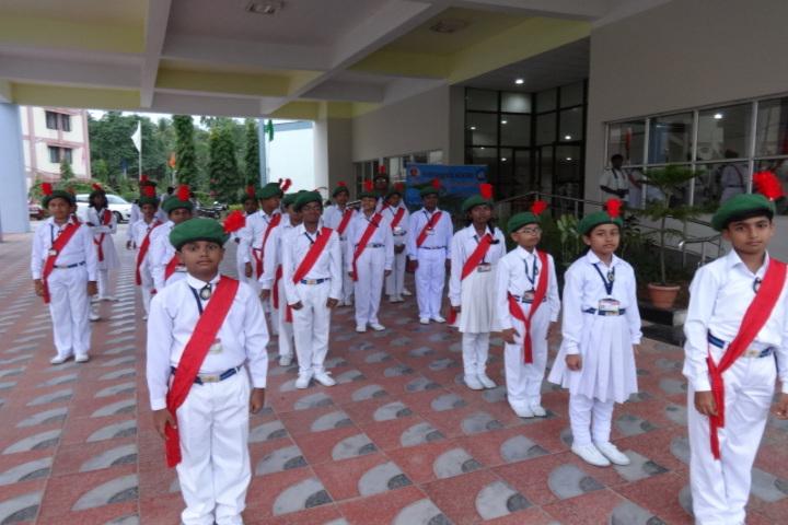 Vivekananda kendra vidyalaya - march past