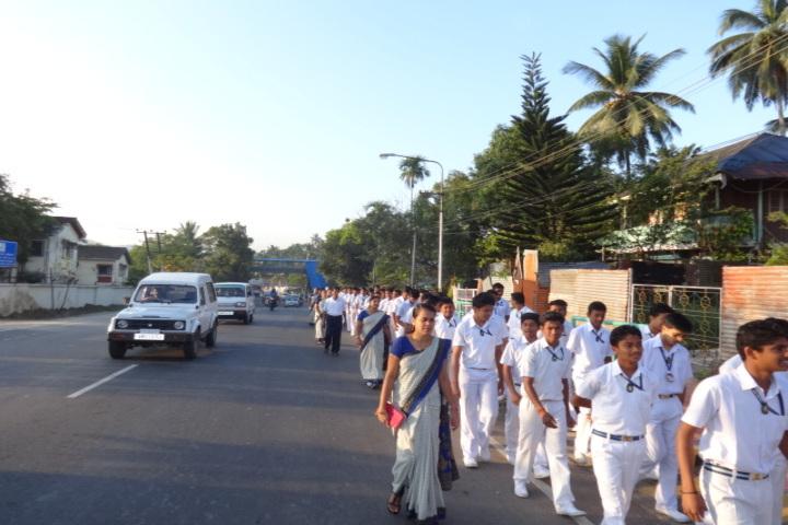 Vivekananda kendra vidyalaya - rally