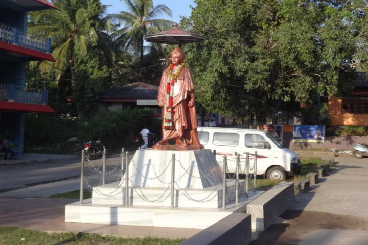 Vivekananda kendra vidyalaya - vivekananda statue