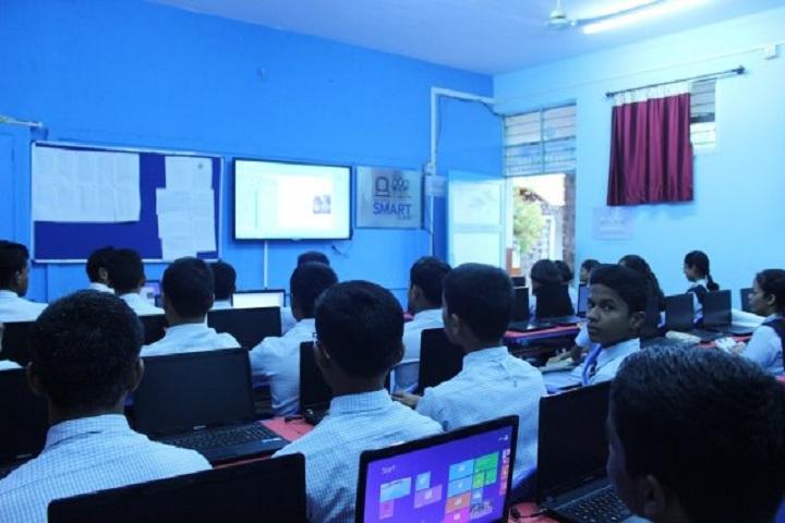 Jawahar Navodaya Vidyalaya-Smart Class room Inside