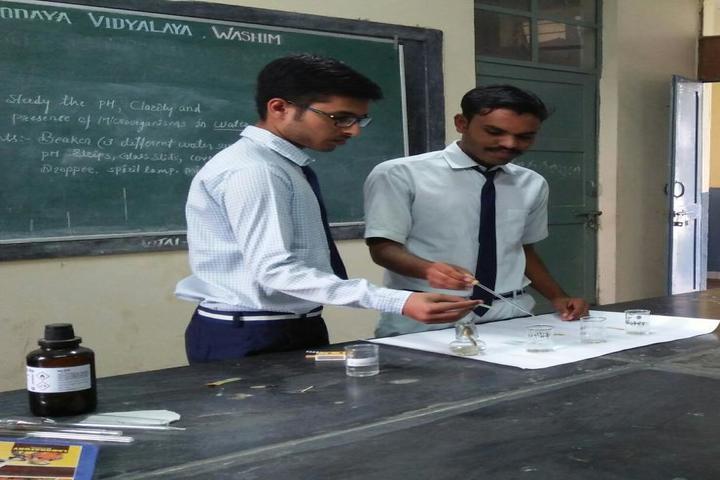 Jawahar Navodaya Vidyalaya-Science Activity